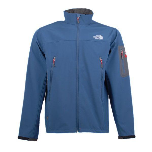 The North Face Goretex Jacket Men Steelblue