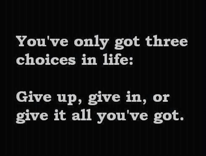 3 choices in life inspirational quotes pinterest