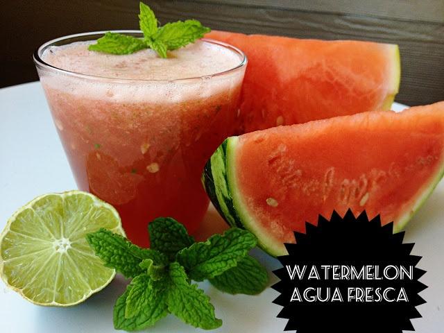 Watermelon Agua Fresca | Yummy in my tummy | Pinterest