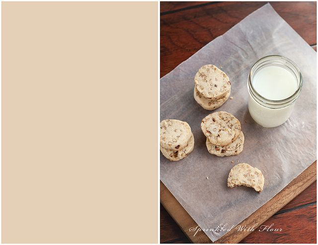 Brown Butter Pecan Shortbread by Amber (Sprinkled With Flour), via ...