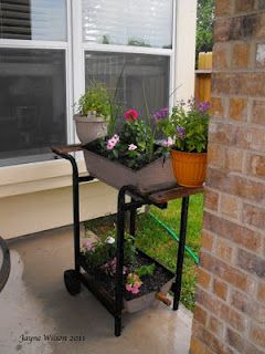The Old Grill Finds a New Life -- as a Planter!