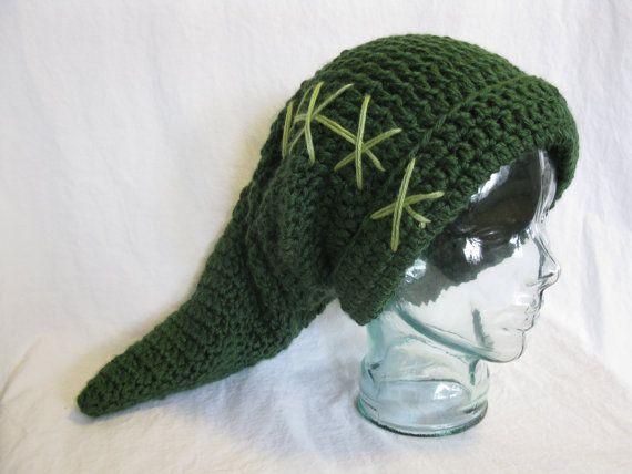 Crochet Zelda Hat : Link hat, Legend of Zelda, handmade crochet Etsy: The Fantsy (Zelda ...