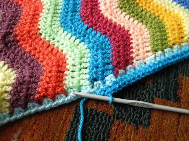 Crochet Pattern For Edging On Afghan : Crochet Edgings For Afghans Related Keywords & Suggestions ...