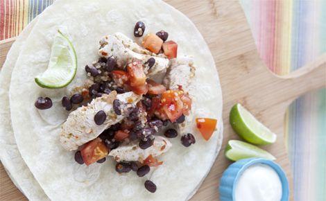 Lunch/Dinner: Epicure's 10-minute Steamer Salsa Chicken (170 calories ...