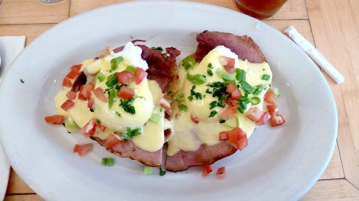 Clinton St. Baking Company: Eggs Benedict of poached eggs, maple-cured ...