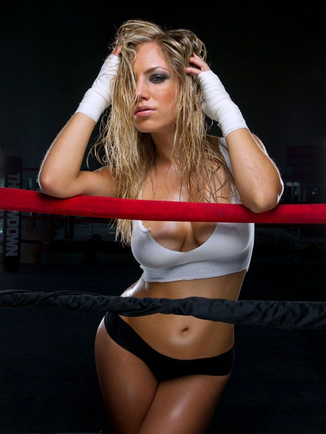 .@thejadebryce - Bellator ring girl and Playboy model ...