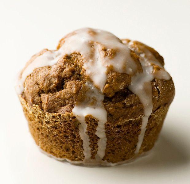 Glazed Gingerbread Muffins   s w e e t + s a v o u r y   Pint…