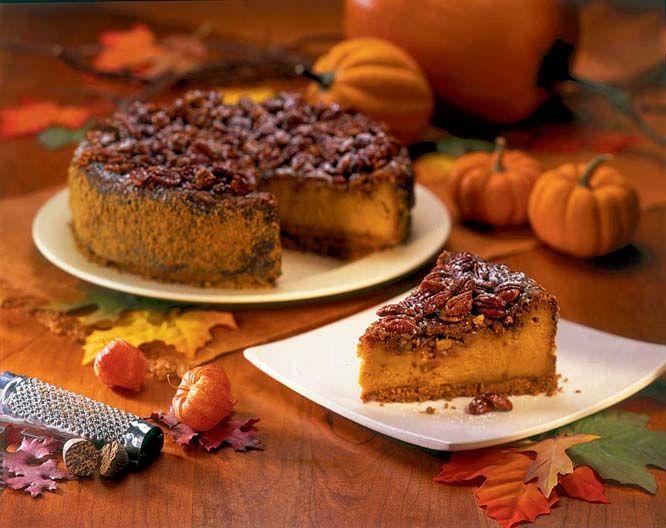 Pumpkin Praline Cheesecake | Yummy, Yummy | Pinterest
