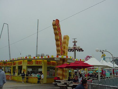 Curley Fries -Jersey Shore Boardwalk- Did this and put tons of salt ...