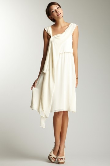 ADAM  Draped Grecian Dress  $89.00  City hall wedding...