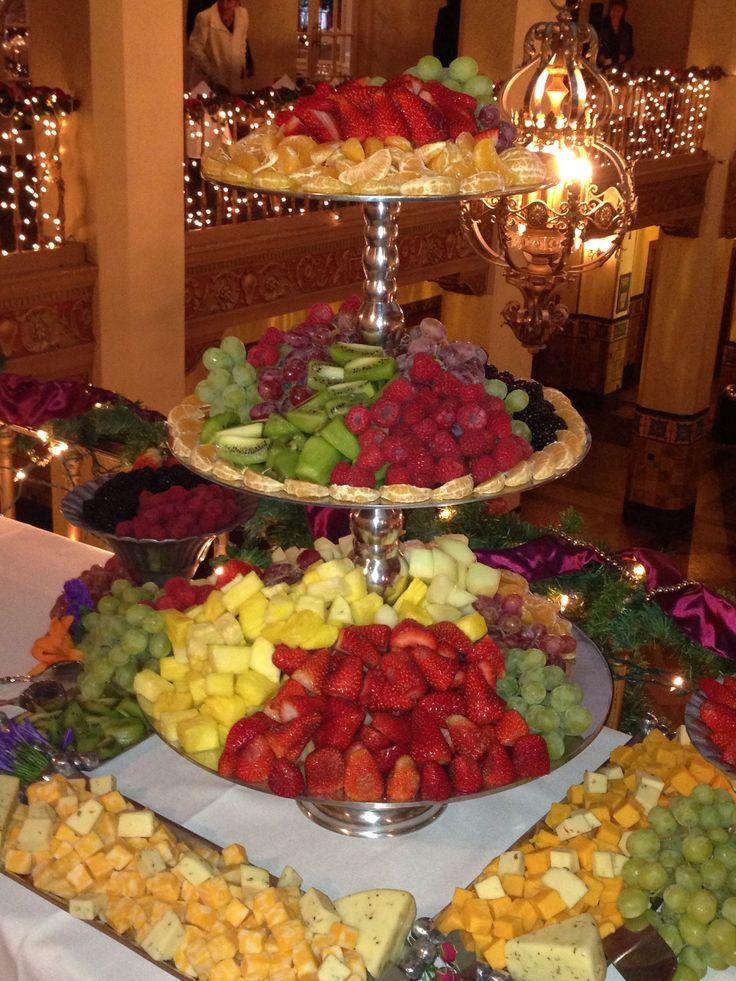 Fruit trays for wedding
