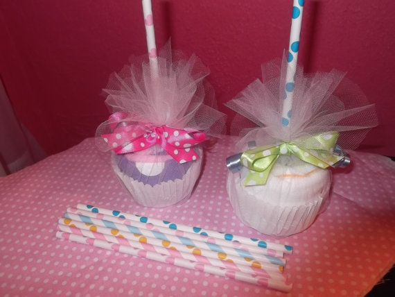 candy apple baby shower gift baby girl by kkscupcakecreations