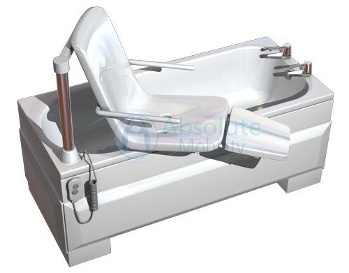 Power lift tub disabled home information pinterest