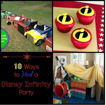 Creative ways to host a Disney Infinity Party
