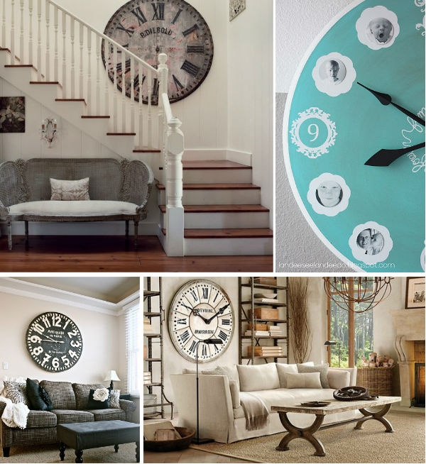 Relógios na decoração #clocks