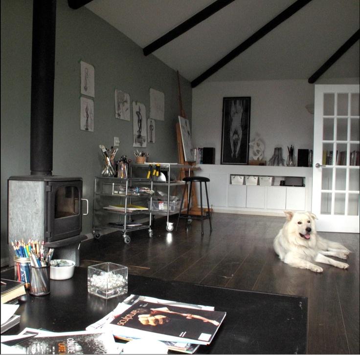 Artist Studio at Goldmoss Gallery. | Art Gallery & Studio ...