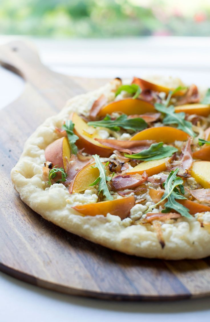 ... prosciutto and goat cheese recipe peach goat cheese prosciutto pizza