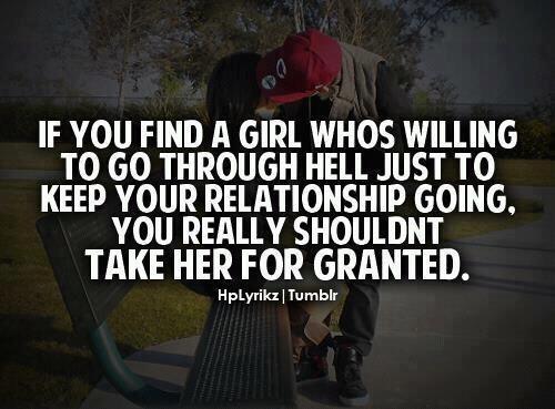 Taken for granted   HI...