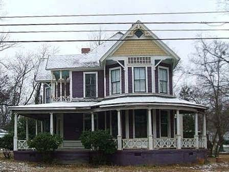 Barber Greenville Sc : Queen Anne Victorian Home designed by George F. Barber Anderson SC
