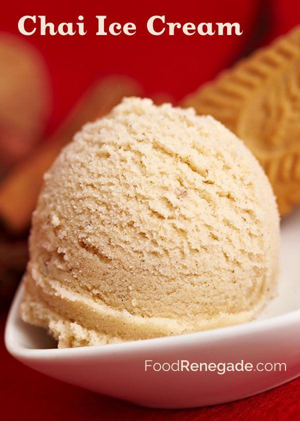 Chai Ice Cream - Nourishing Joy