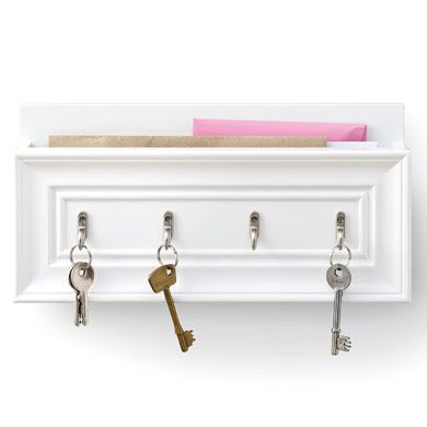 Amelie letter rack and key holder crafts pinterest - Letter rack and key holder ...