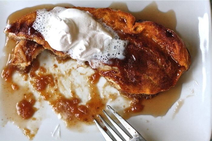 Baked Pumpkin French Toast | First Things First | Pinterest