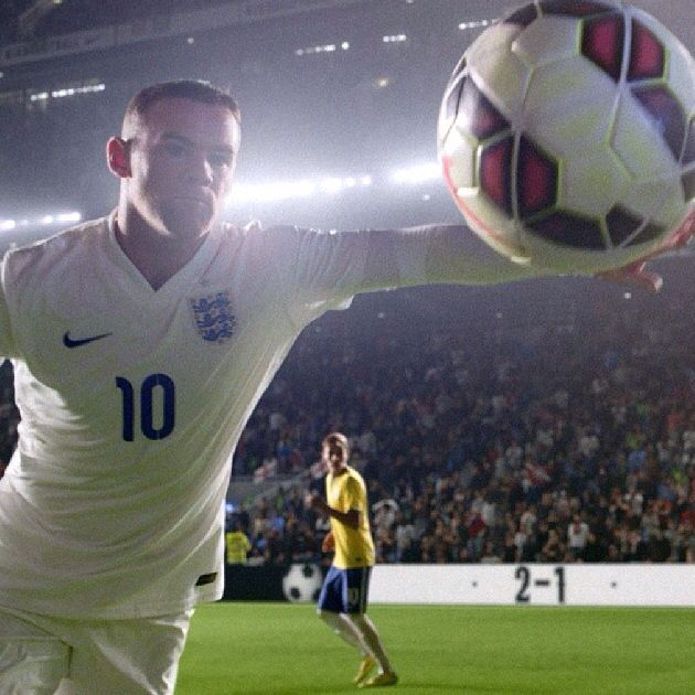 Wayne Rooney Nike Advert