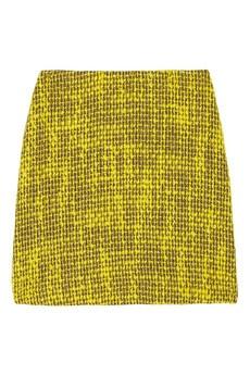 alice + olivia chartreuse skirt!