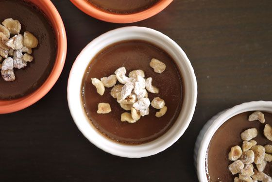 Nutella Pots de Creme - really fancy sounding and looking, but easy to ...