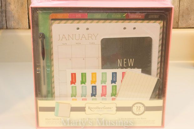Michael's Recollection Calendar Kit