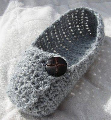 Las Crochet Slippers, Free Vintage Crochet Pattern