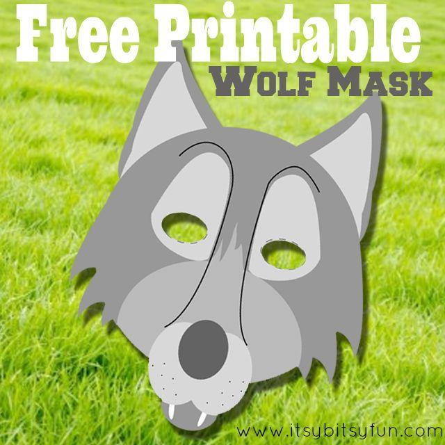 Breathtaking image pertaining to wolf mask printable