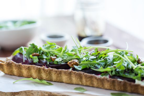 Roasted Beet and Goat Cheese Tart | Recipe