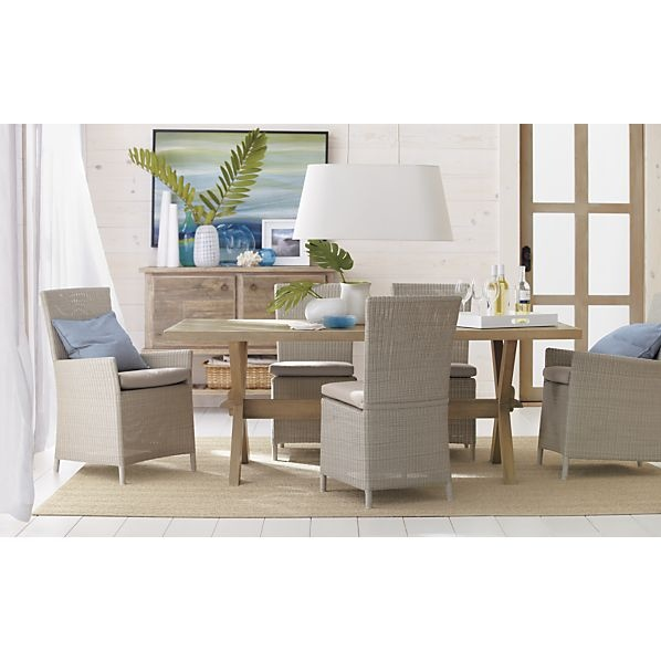 Crate And Barrel Dining Table Apartment Living Pinterest