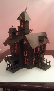 Cricut haunted house