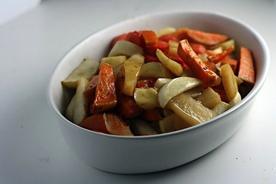 Maple-Glazed Root Vegetables - Healthy. Delicious.