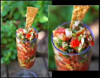 clean eating salsa