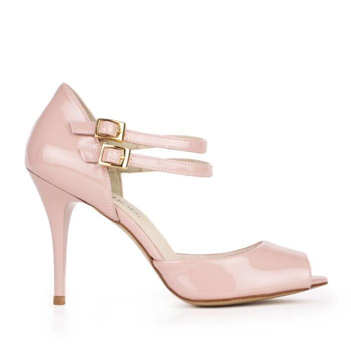 chaussures talons rose pale gold sandals heels. Black Bedroom Furniture Sets. Home Design Ideas