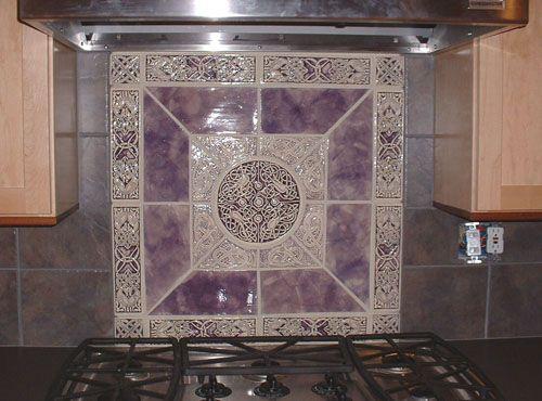 celtic tiles for backsplashes earth song tiles handmade decorative