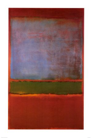 Rothko--a lot more interesting than most of his work.