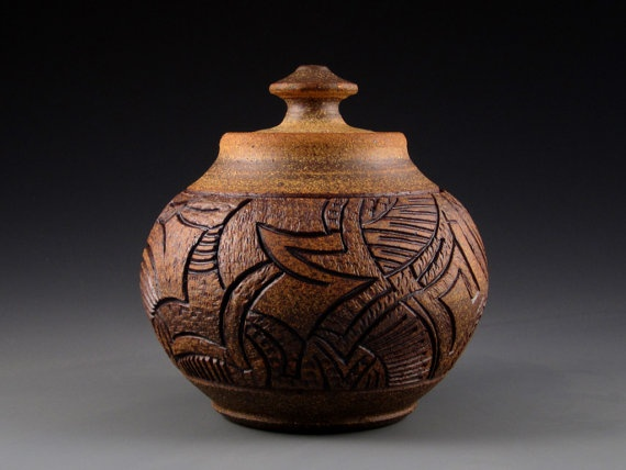 Carved clay pottery ceramics pinterest