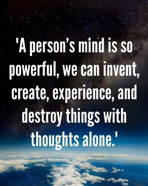 the mind is so powerful life quotes pinterest
