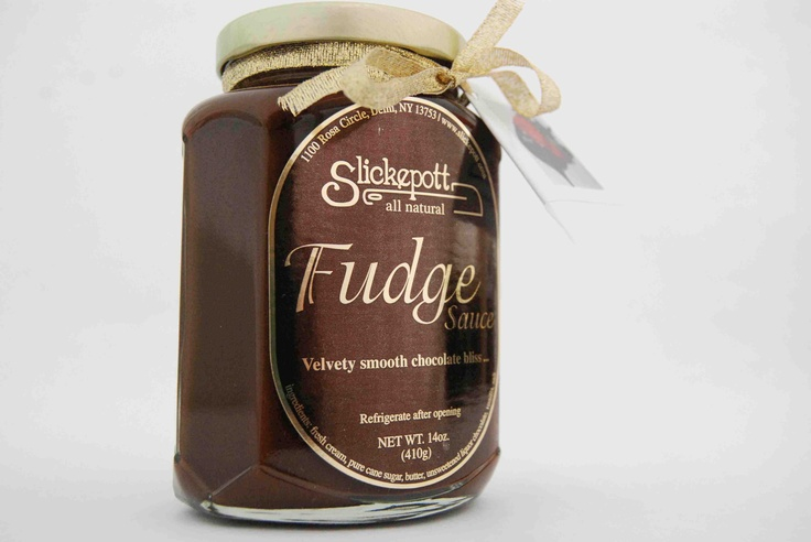 Slickepott All Natural Chocolate Fudge Sauce --- lovingly made right ...