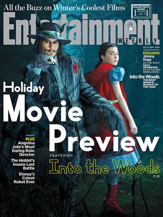 Into the Woods Finally Reveals Johnny Depp's Big Bad Wolf Look | Vanity Fair