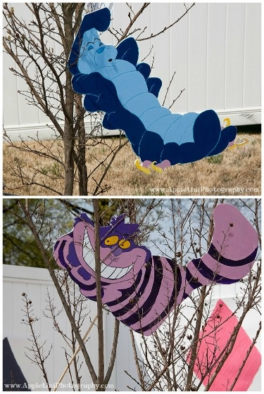 Alice in wonderland decorations holiday ideas pinterest - Alice in wonderland outdoor decorations ...