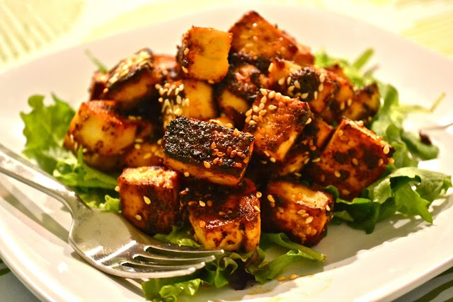 Simple Baked Tofu | Meatless Main Dishes | Pinterest