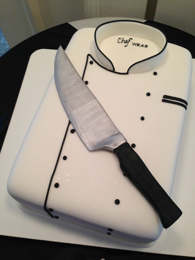 Birthday Cake Designs For A Chef : Pin by Cakes by Graham on Grooms Like Cakes Too! Pinterest