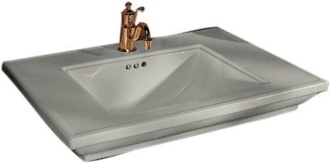 Sinks That Sit On Top Of Counter : ... partially recessed, top of sink will sit 3 11/16