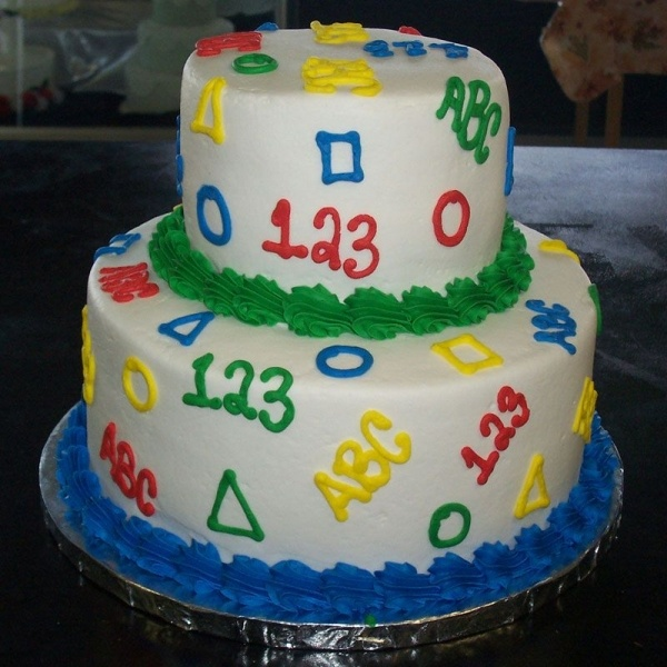 abc 123 shapes cake cake decorating ideas pinterest