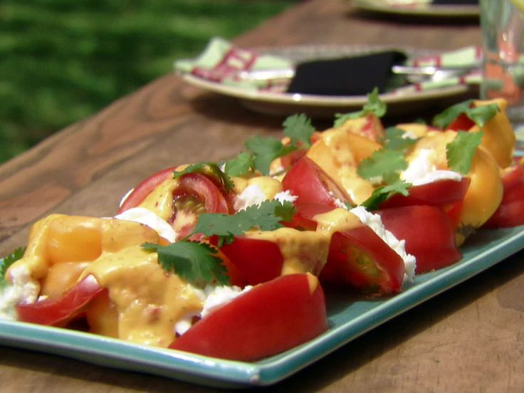 Caprese Salad with Roasted Mango Dressing Recipe : Aarti Sequeira ...